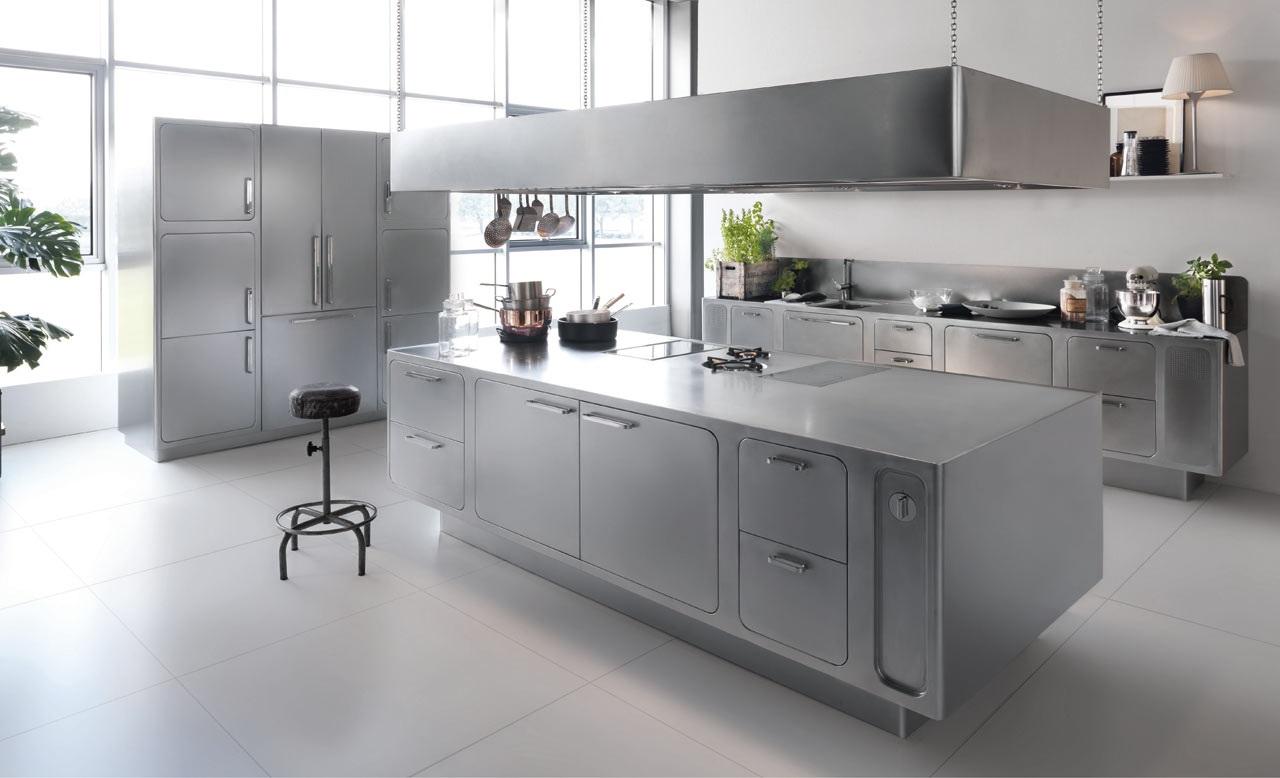 Rvs Keuken Plaat : Stainless Steel Kitchen