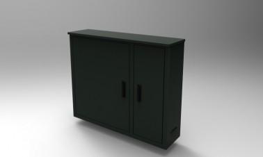 Op maat gemaakte besturingskast met dubbele deur - Zador