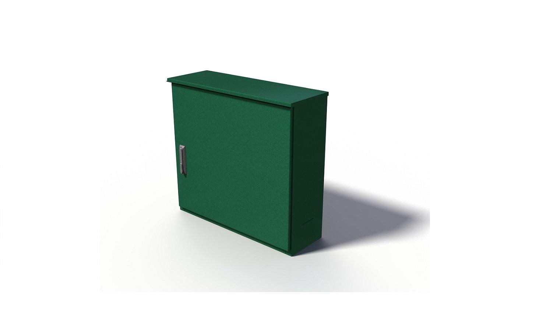 montagekast rvs 1 deur