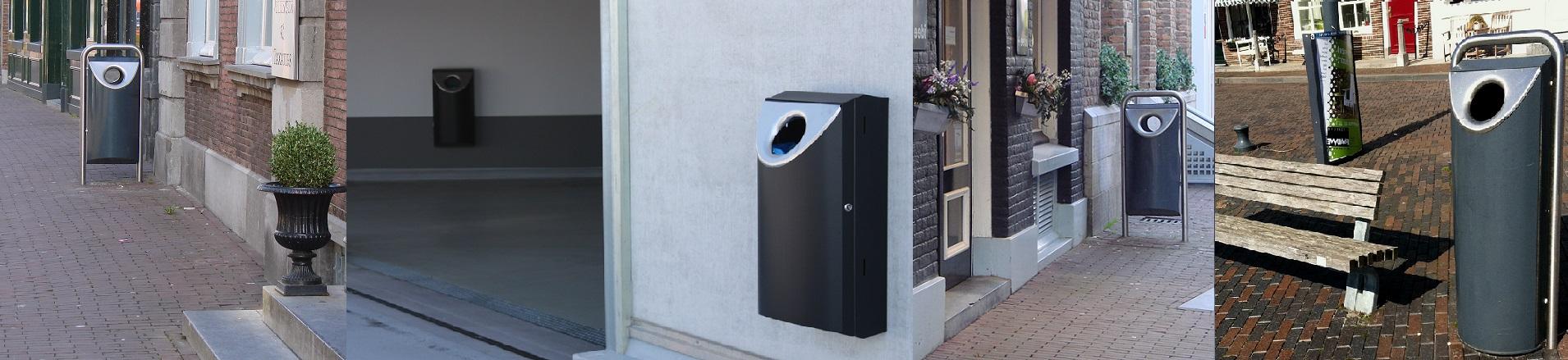 RVS afvalbakken op maat laten maken voor buiten