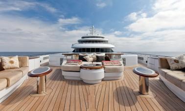 Luxe jacht