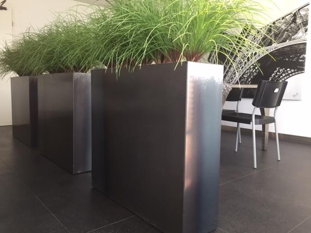 metalen plantenbak