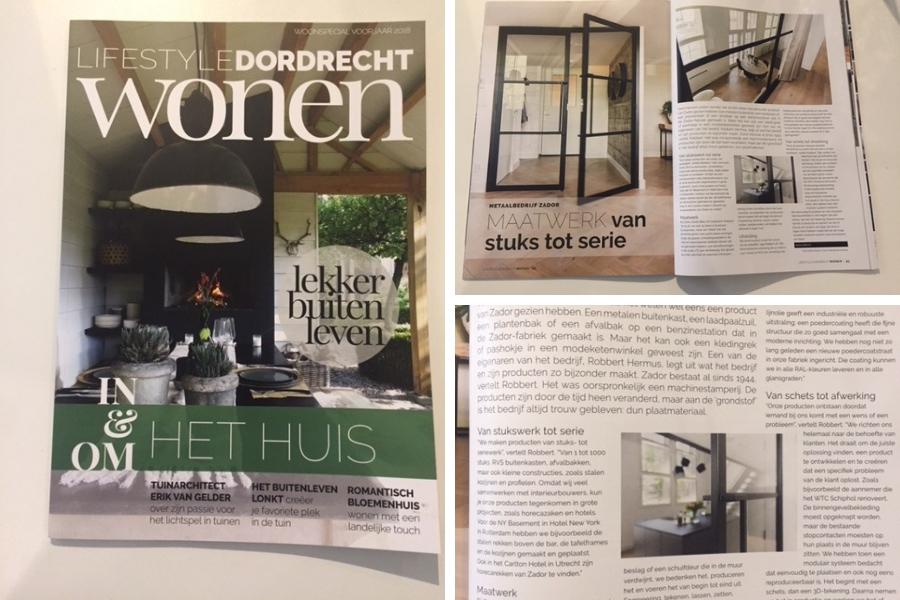 Stalen deuren en stalen binnen kozijnen in Lifestyle Dordrecht Wonen