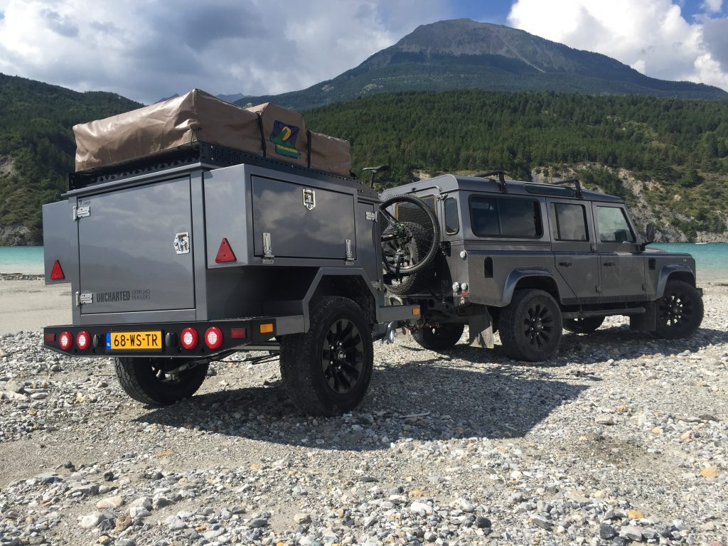 een off road trailer